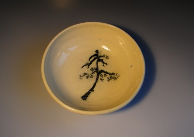 Miska z chińską sosną