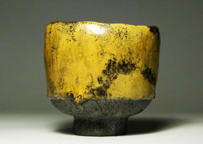 Żółta czarka do herbaty (yunomi) #51