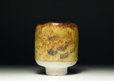 Żółta czarka do herbaty (yunomi) #57