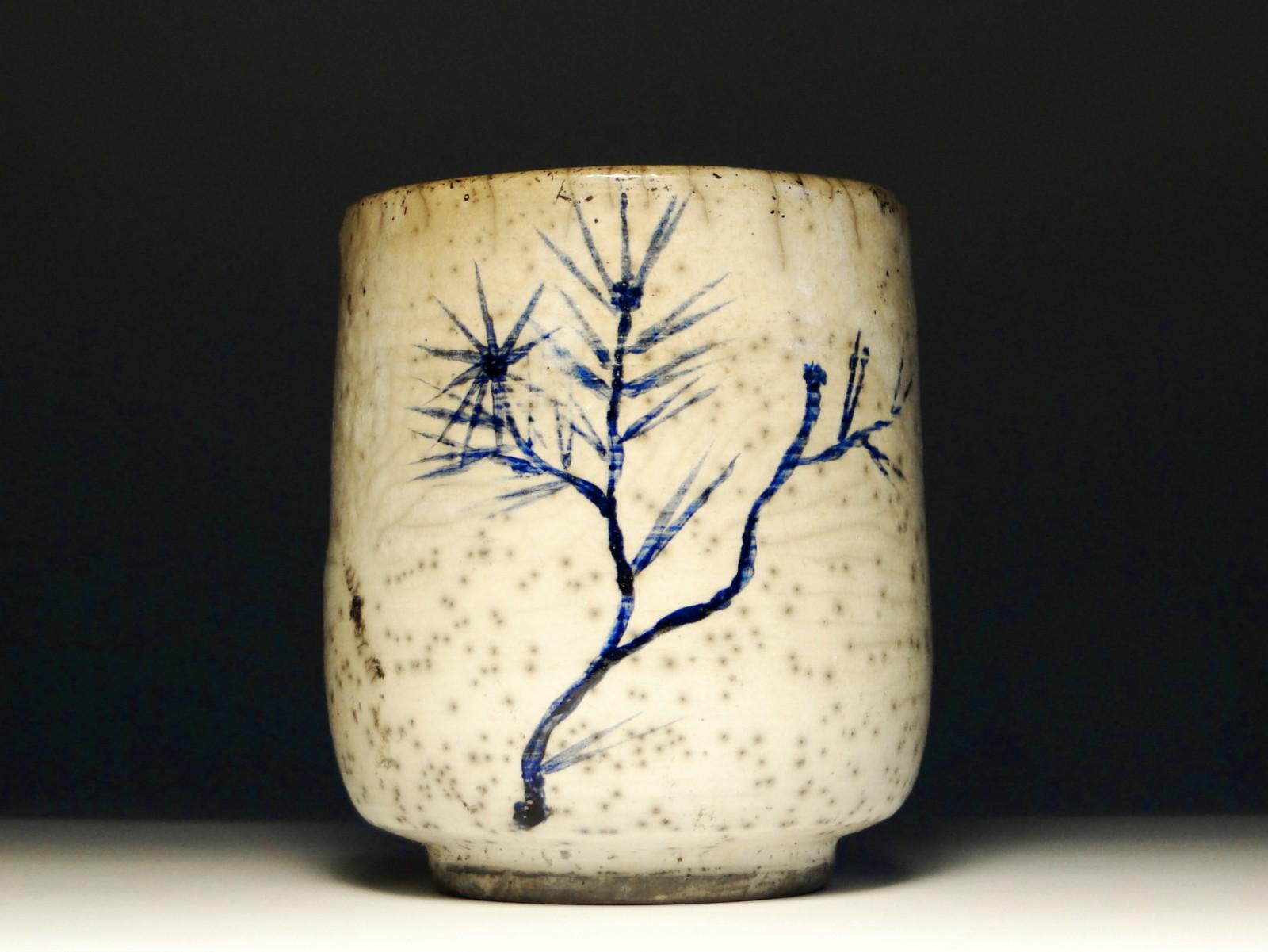Ręcznie malowana czarka do herbaty (yunomi) nr 4
