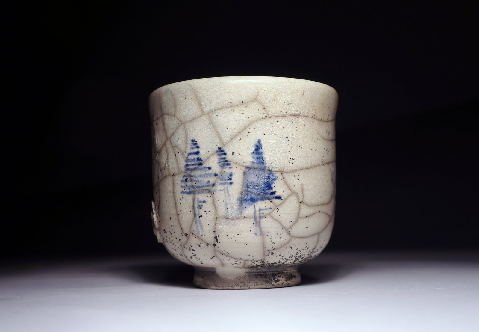 Ręcznie malowana czarka do herbaty (yunomi) #63