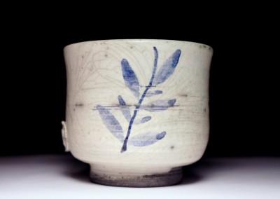 Ręcznie malowana czarka do herbaty (yunomi) #65