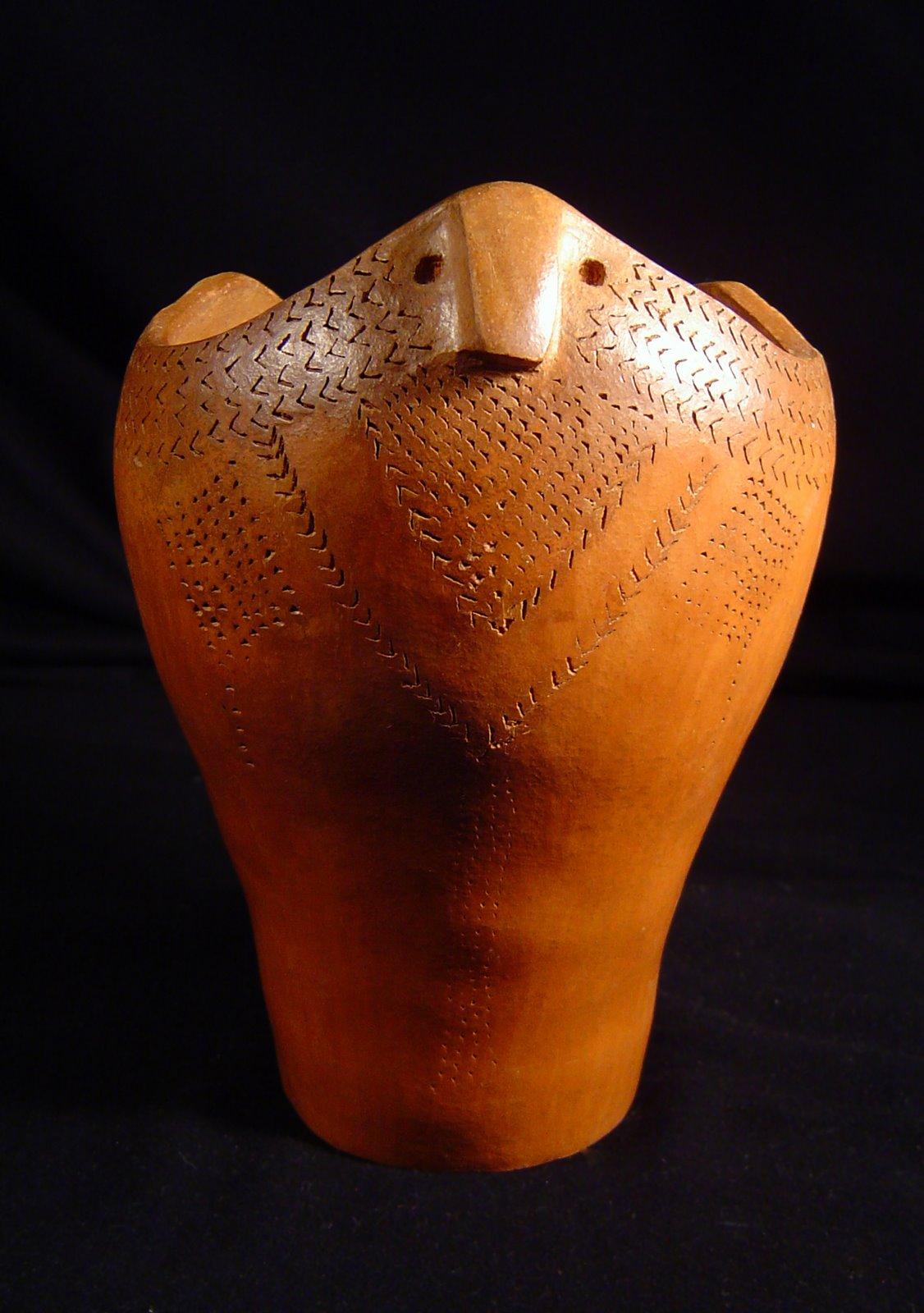 Kopia naczynia prehistorycznego z Syberii