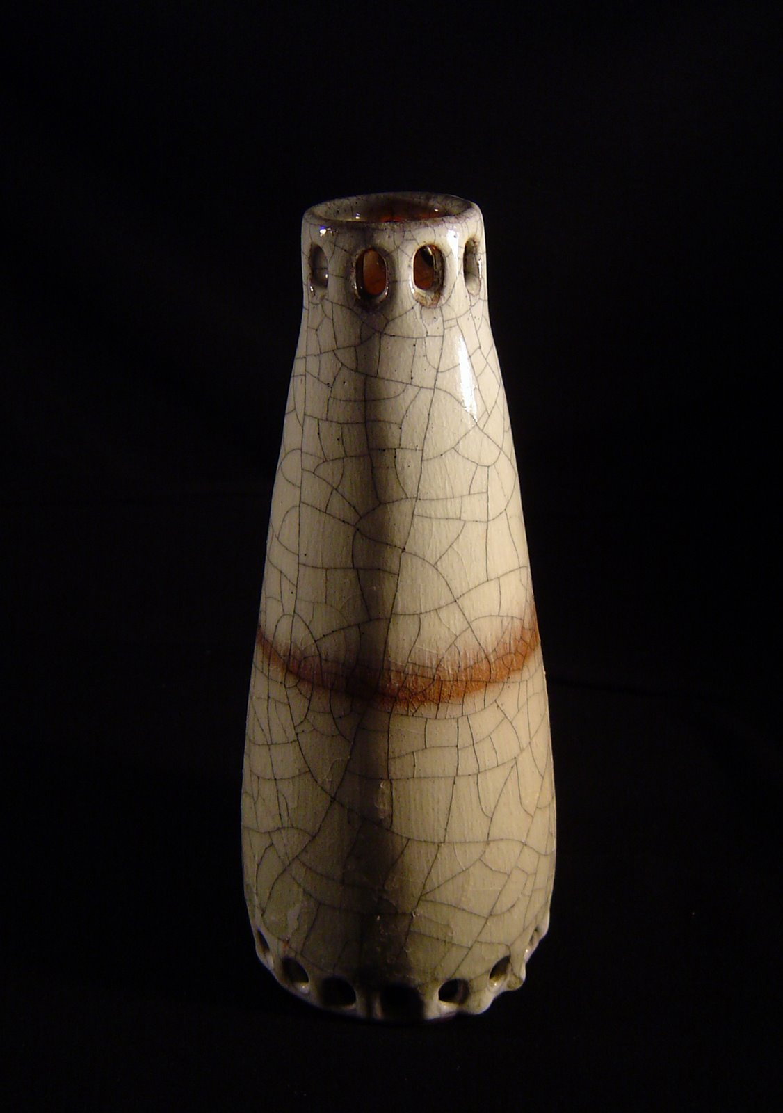"""Ceramiczny wazon """"krakle"""""""