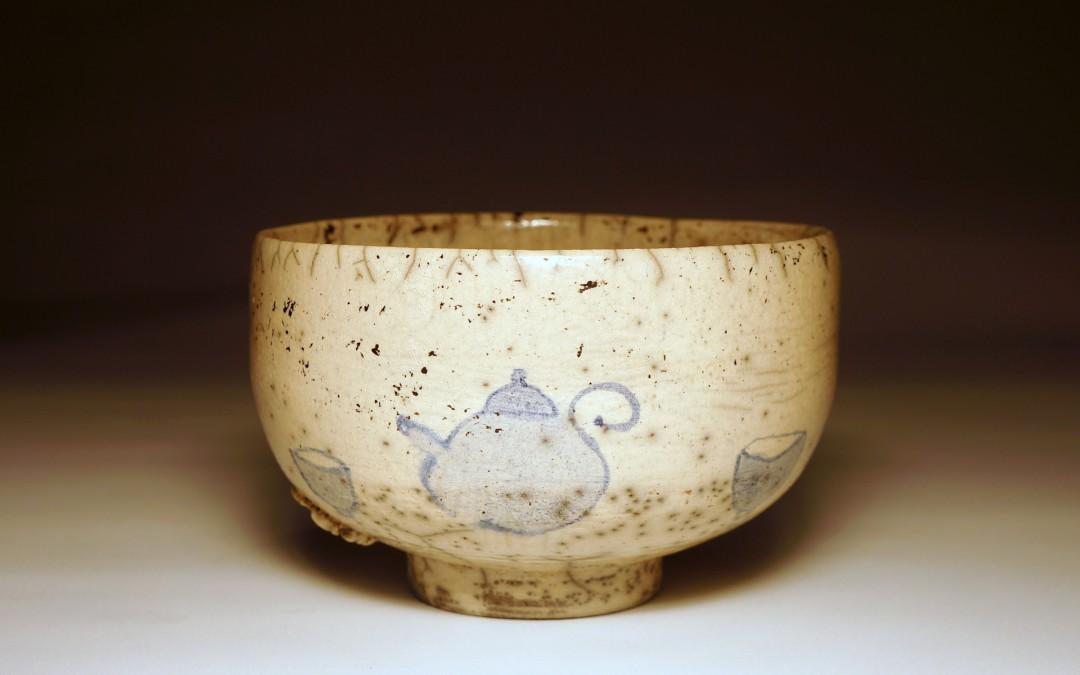 Chawan malowany w czajniczki #86