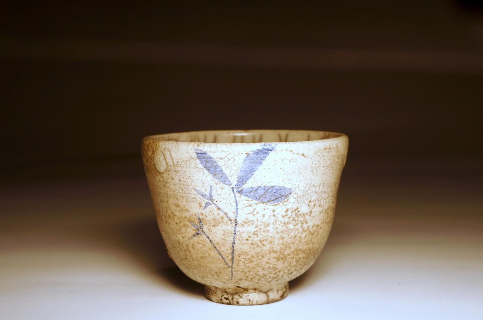 Ręcznie malowana czarka do herbaty (yunomi) #90