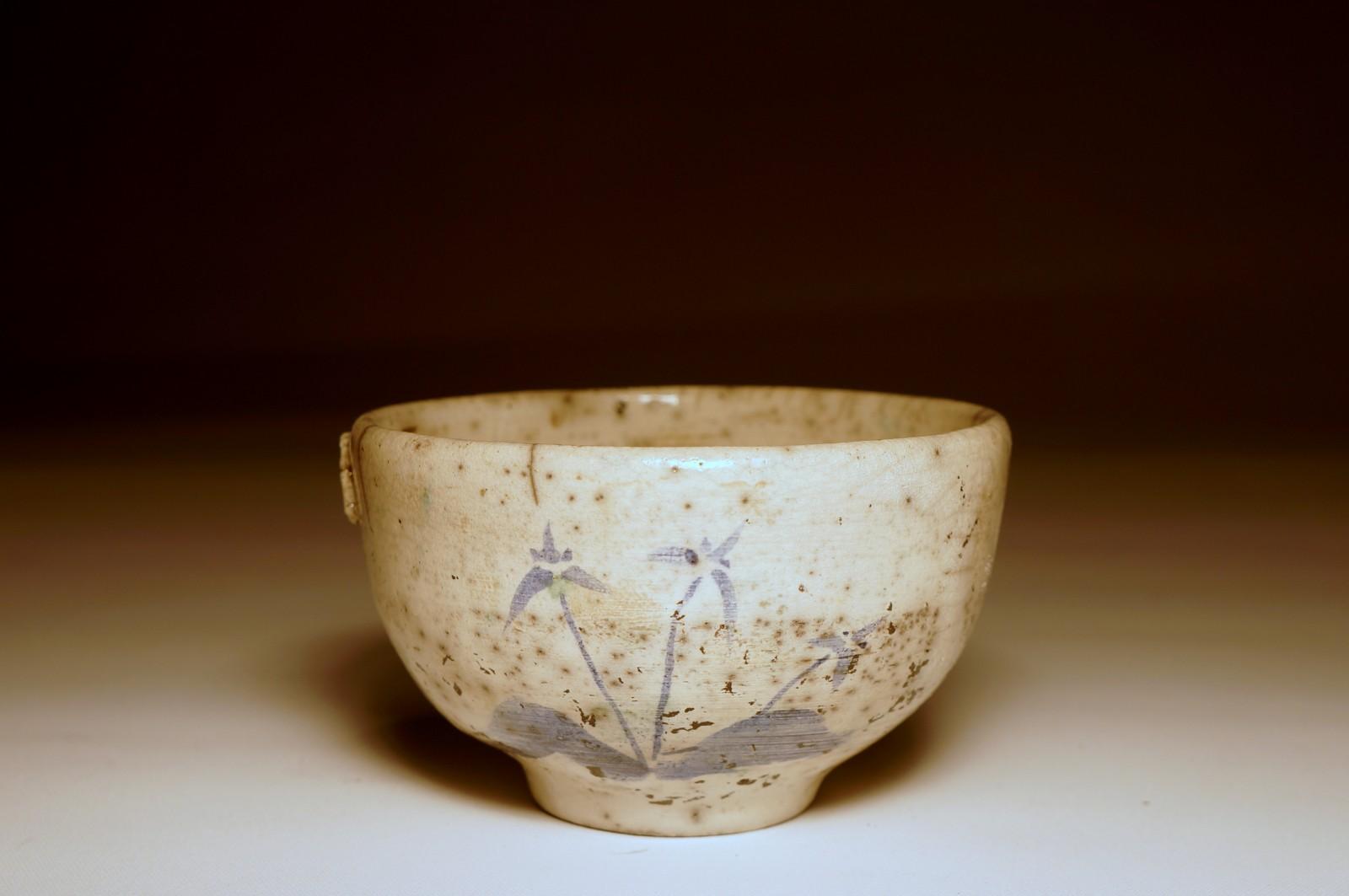 Ręcznie malowana czarka do herbaty #92