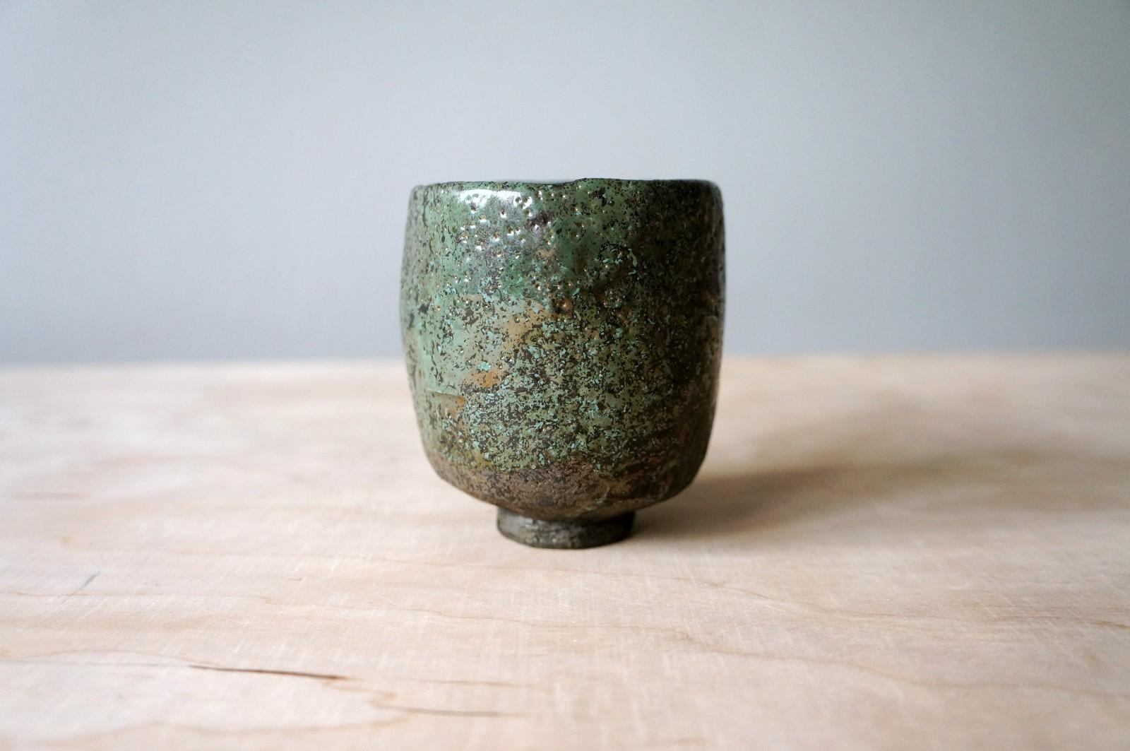 Yunomi – zielona czarka do herbaty #116