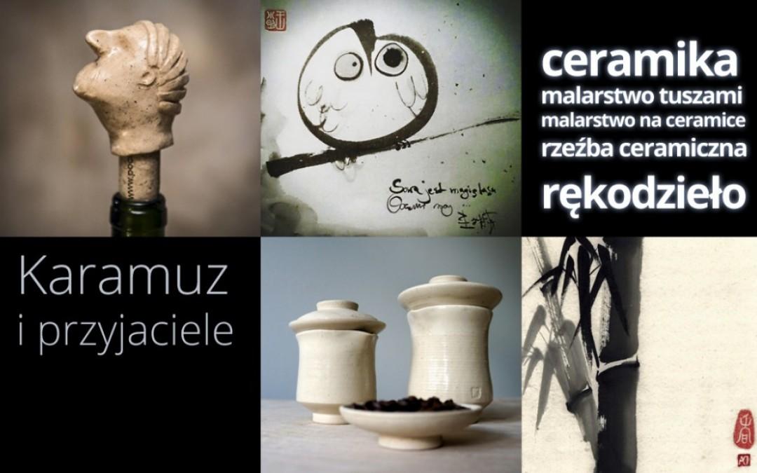 Karamuz i przyjaciele – kiermasz na otwarcie pracowni ceramicznej