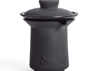 Slowpresso czarna porcelana