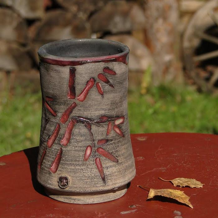 Motyw bambusa na ceramice
