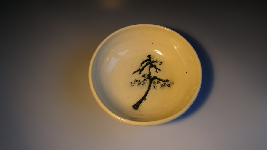 "Bowl ""chinese pine"" by Mojaceramika.pl"