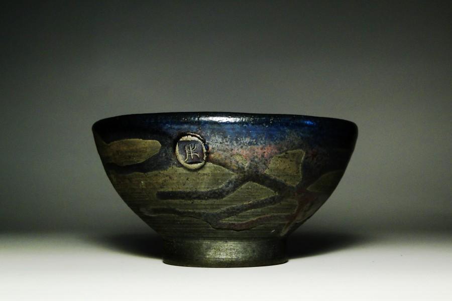 Miska ceramiczna raku - Justyna Karamuz