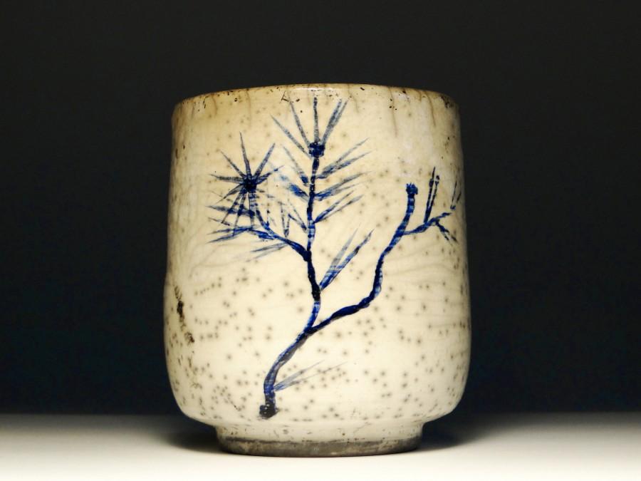 Malowana czarka ceramiczna