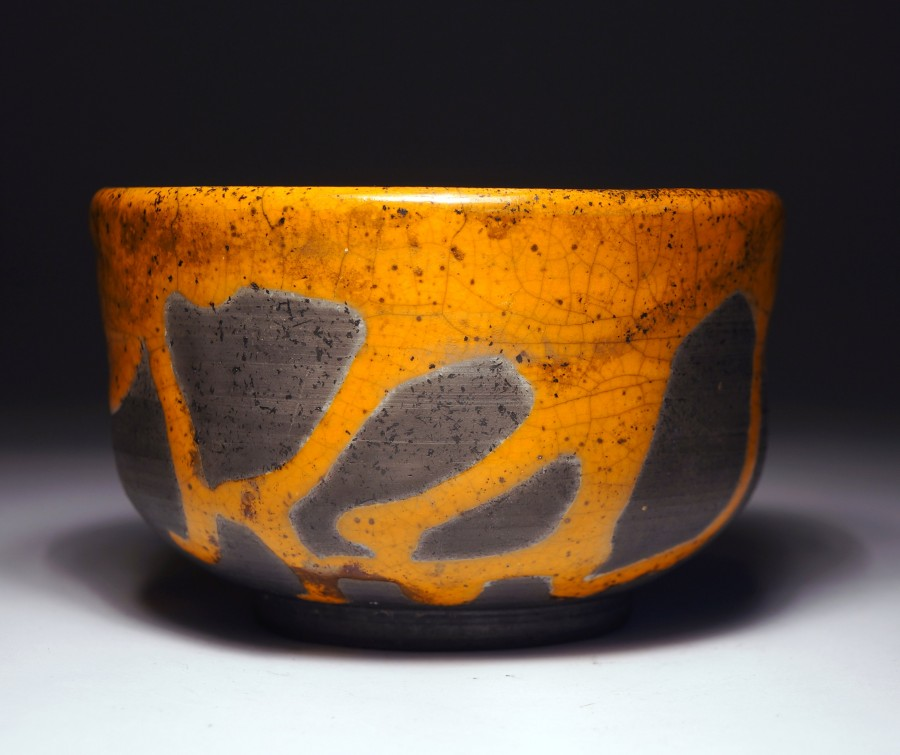 Justyna Karamuz • orange tea bowl