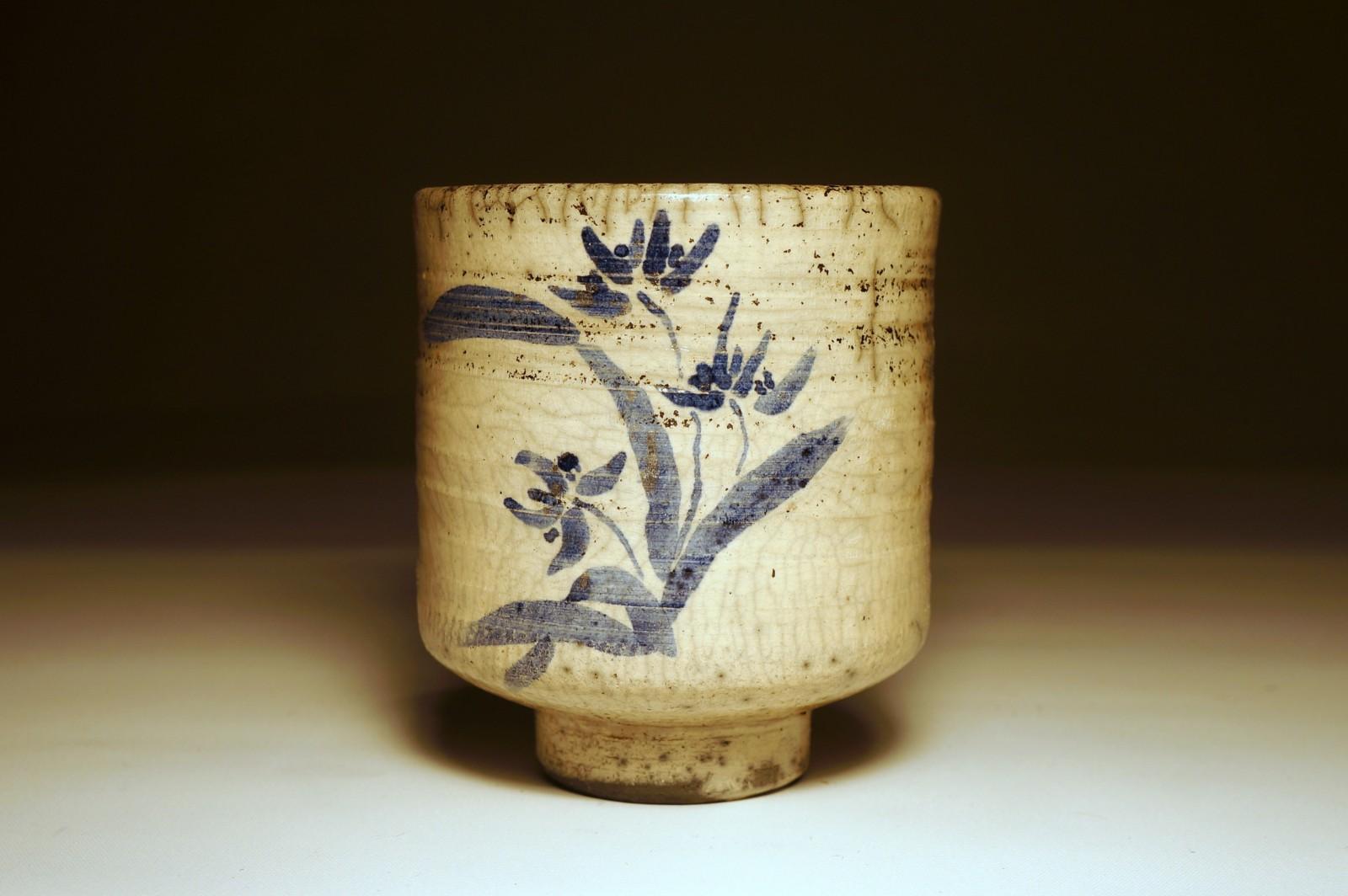 Ręcznie malowana czarka do herbaty