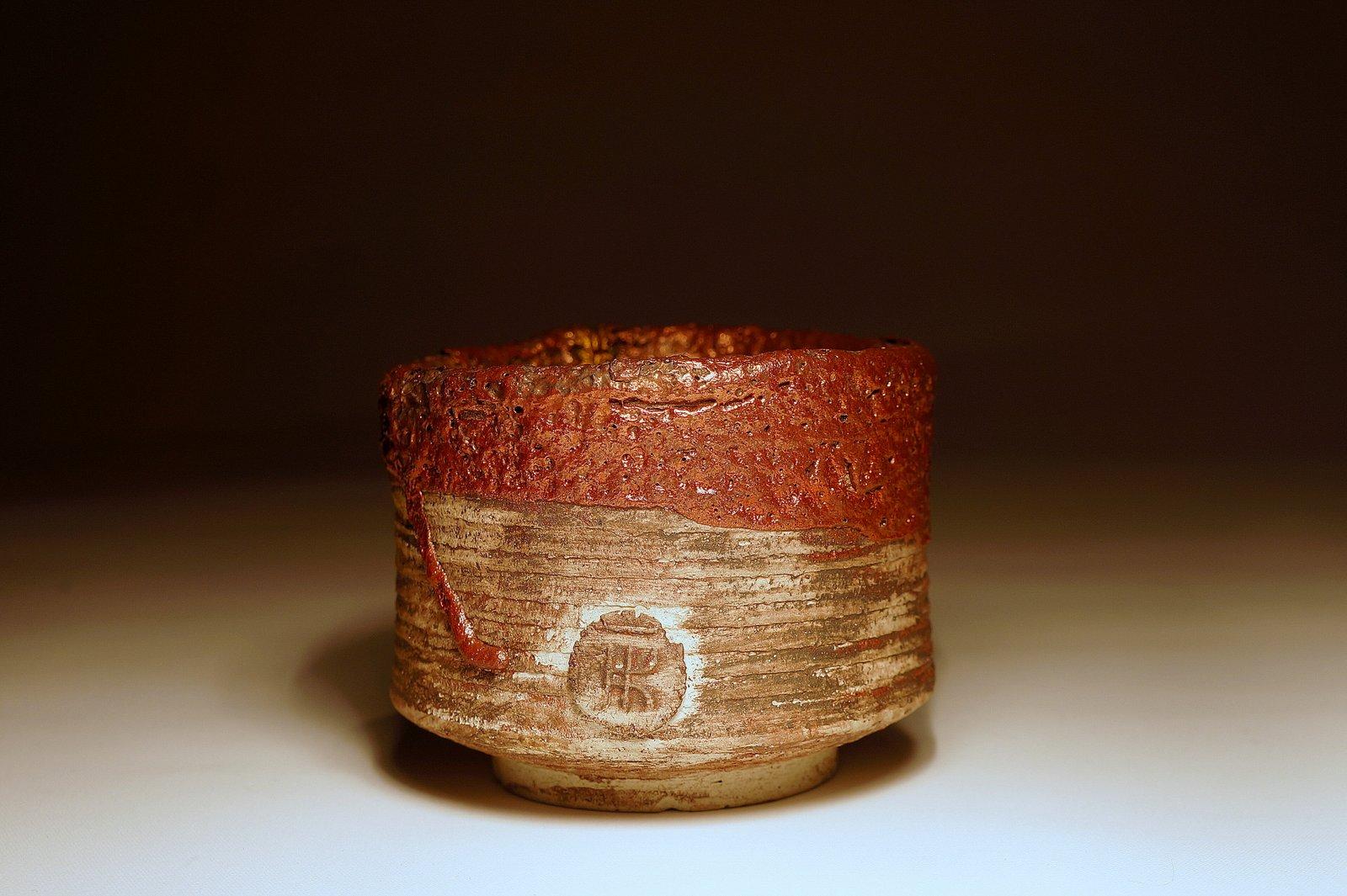 Czarka do herbaty zdobiona kintsugi